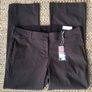 Lane Bryant The Allie Collection Brown Boot Pants